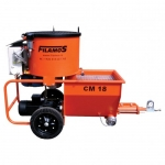 Plaster and mortar machine CM 18 COM-V