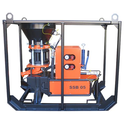 Gunite machine SSB 05 COM-A M2